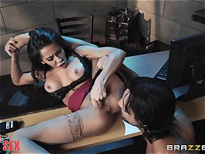 Madison Ivy riding her steaming assets on top