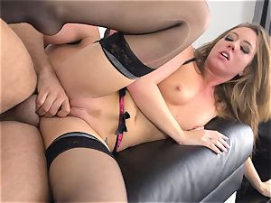 Maddy OReilly rammed full in her undergarments